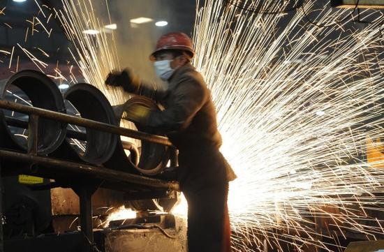 中国工业企业利润创2013年以来最大增幅 得益于价格上升