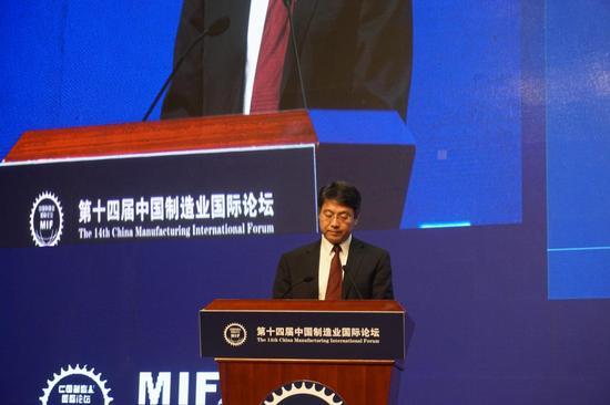 中国船舶重工集团副总经理杜刚