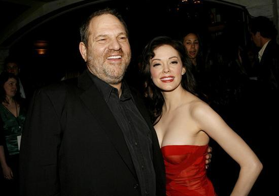 麦高恩和陷入性丑闻的好莱坞大亨哈维温斯坦