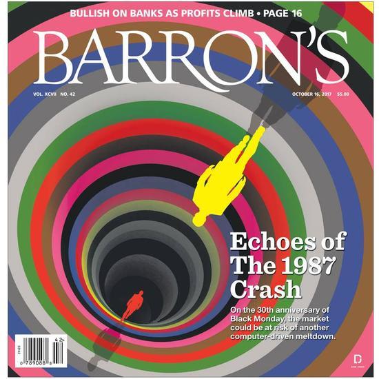 巴伦周刊:程序交易大行其道 美股或再现黑色星期一