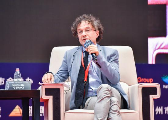 伦敦全球政策研究院中国区主任、诺丁汉大学商学院中国经济政策项目主管Michele GERACI