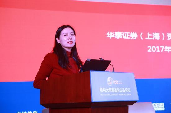 崔春 华泰证券(上海)资产管理有限公司董事长