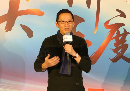 图为著名财经作家吴晓波。(摄影 张锐)