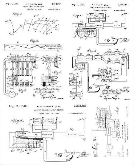 海蒂和安塞尔的专利申请图纸