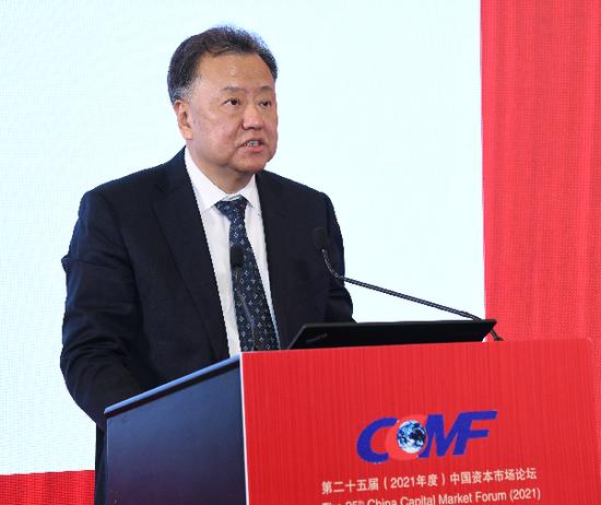 阎庆民:持续深化简政放权 有序推进注册制改革