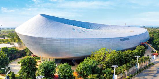 今日海花岛:国际会展中心