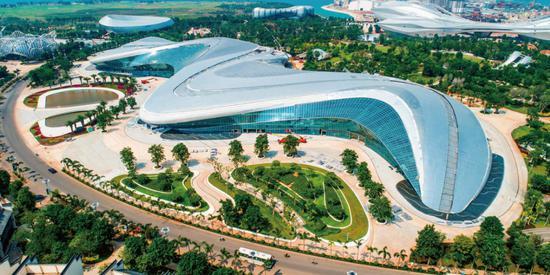今日海花岛:国际购物中心