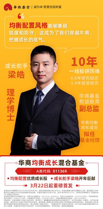 华商万众创新混合近两年上涨266% 基金经理梁皓新品火热发售中