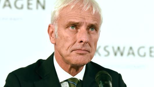 大众汽车CEO马蒂亚斯-穆勒