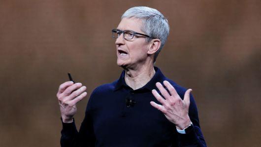 苹果CEO库克向慈善组