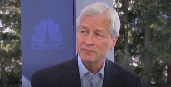 摩根大通CEO:目前最大的担忧是负利率