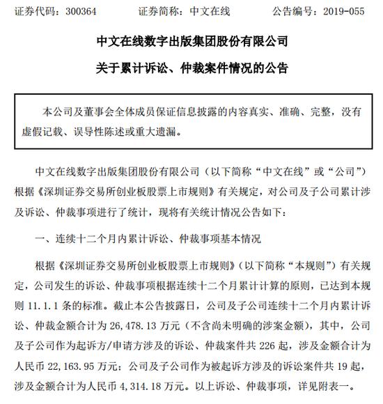 中文在线的维权路