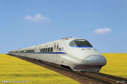 图8-4 和谐号动车组列车