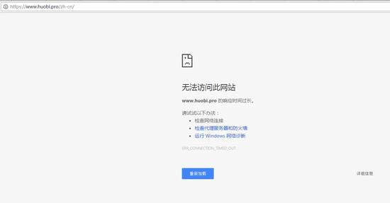 火币网交易平台中文网址已无法打开