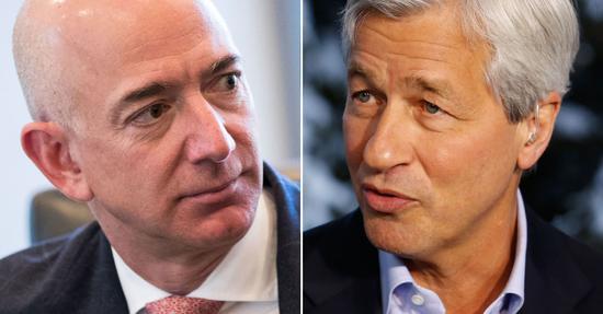 摩根大通CEO戴蒙:贝佐斯早年曾邀我加入亚马逊