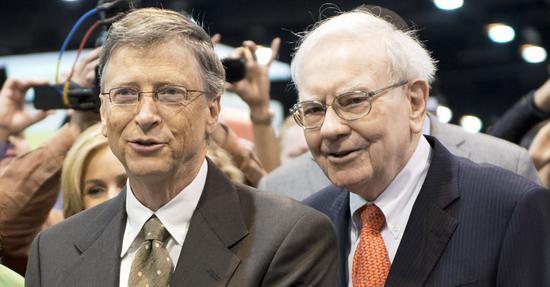 美国慈善排行榜 巴菲特以388亿美元高居榜首