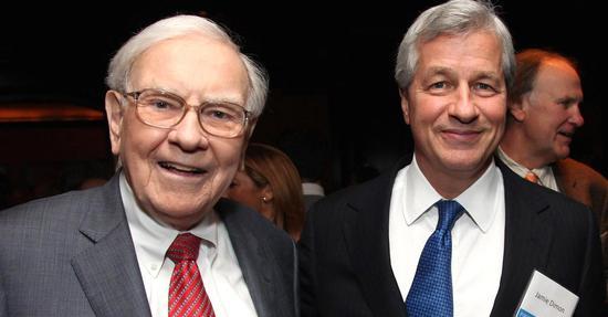 摩根大通CEO:猜测市场是失败者游戏 巴菲特才是最聪明的人