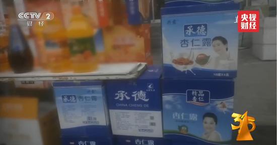 央视曝山寨承德杏仁露露占据农村 京东淘宝火速下架