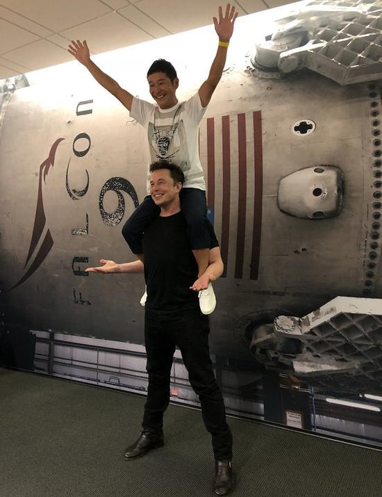 马斯克或与日本富豪前泽友作同游太空