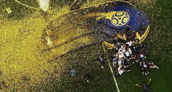 世界杯冠軍法國隊將得到3800萬美元獎金