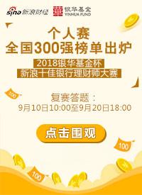 十佳银行理财师大赛全国300强 /