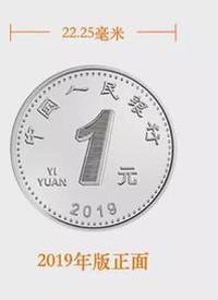 2019年版第五套人民币硬币详解 /