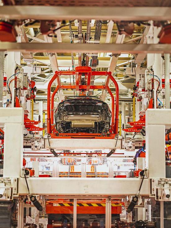Model 3生產線