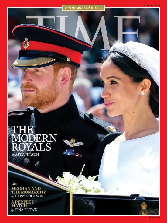 《时代周刊》:哈里王子与梅根大婚意义重大
