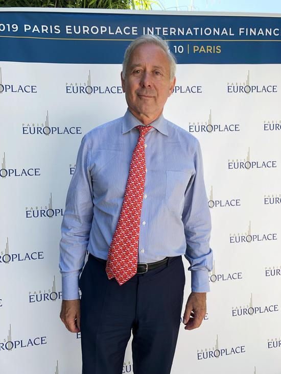 巴黎欧洲金融市场协会CEO阿诺-德-布瑞松(Arnaud de BRESSON),图片来源:新浪财经