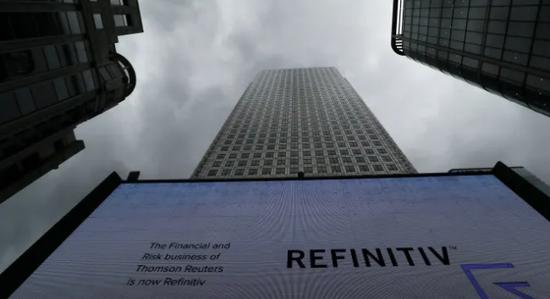 伦敦证券交易拟收购Refinitiv 此举将增厚黑石盈利