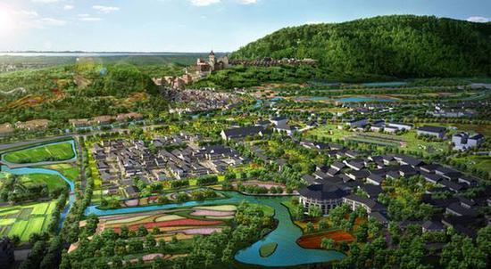 郑州蓝城未批先建 农畜产品交易市场变身特色小镇?