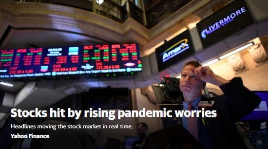 美股盘前:四季度GDP符合预期 道指期货跌1.6%