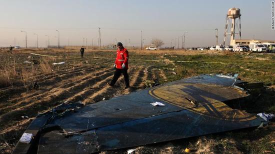 伊朗承认击落波音飞机 一改之前否认的说法