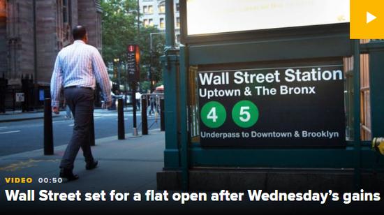 美股盘前:欧洲股市悉数反弹 道指期货微跌0.1%