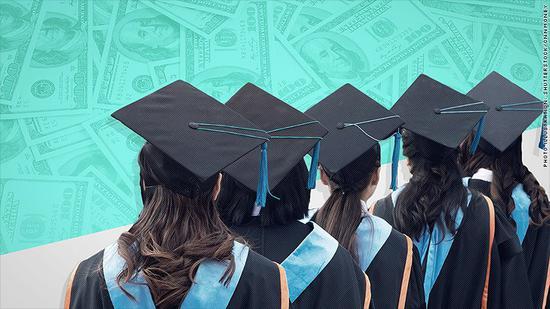 美国学生贷款首次突破1.5万亿美元 女性背负三分之二