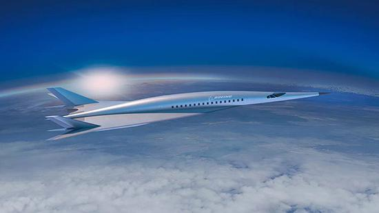 上世紀60年代的美國超音速運輸機概念圖