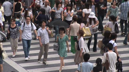 调查:七成日本人对