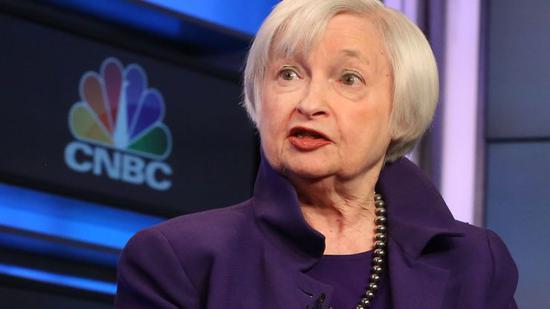 耶伦:这次的收益率曲线倒挂未必是衰退信号