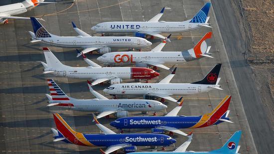 美联航将波音737 Max飞机停飞延