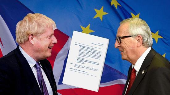 法巴:若脱欧协议未获通过 英国国内股票或下跌一成