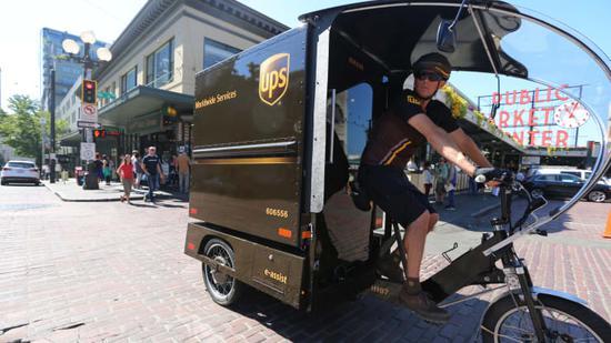 为缓解交通拥堵 UPS等在纽约测试