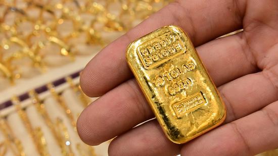 周三黄金期货收跌2.1% 创两个月来最低收盘价