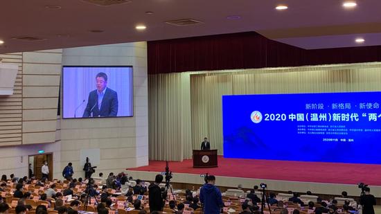 奥盛集团董事长汤亮:民营企业家要承担起经济发展承上启下的使命