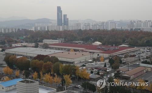 首尔龙山驻韩美军基地