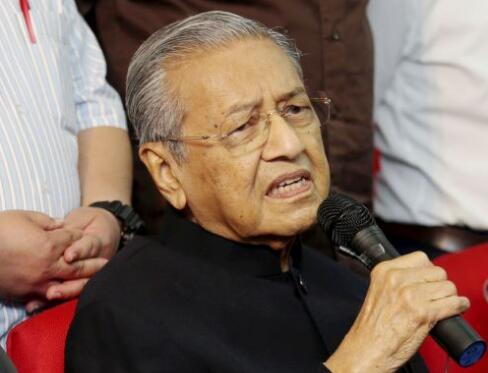 """马哈蒂尔痛心马来西亚人""""太懒"""":竞争不过华人"""