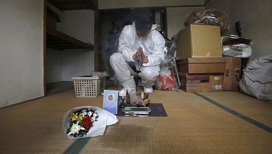 """离群索居大有人在 """"孤独死""""成了老龄化日本的大问题"""