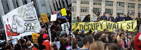 图(11) 占领华尔街运动