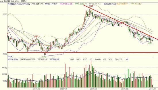 长安期货:玉米C2001期货交易策略