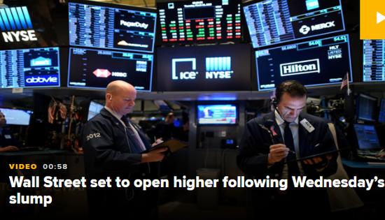在美国股市之前:等待失业保险数据的期货指数全线下跌