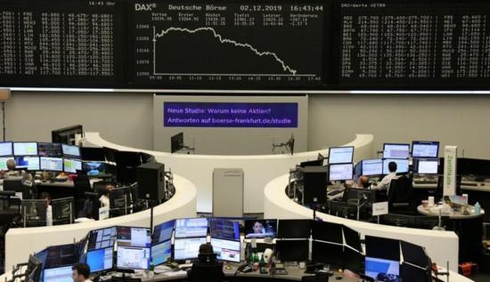 欧股创两个月来最大单日跌幅 并